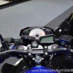 Kawasaki Z300 ABS cockpit at 2017 Thai Motor Expo