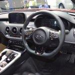 Kia Stinger dashboard at 2017 Thai Motor Expo