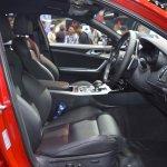 Kia Stinger front seats at 2017 Thai Motor Expo