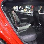 Kia Stinger rear seats at 2017 Thai Motor Expo