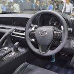 Lexus LC 500 dashboard at 2017 Thai Motor Expo