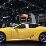 Lexus LC 500 profile at 2017 Thai Motor Expo