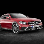 Mercedes E-Class All-Terrain front three quarters right side