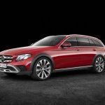 Mercedes E-Class All-Terrain front three quarters
