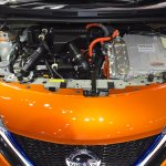 Nissan Note e-Power engine bay at 2017 Thai Motor Expo - Live.JPG