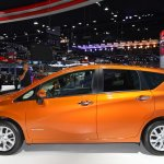Nissan Note e-Power left side at 2017 Thai Motor Expo - Live.JPG
