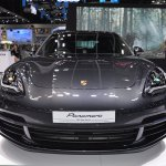 Porsche Panamera 4 e-hybrid Sport Turismo front at 2017 Thai Motor Expo