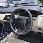 Range Rover Velar dashboard at 2017 Thai Motor Expo