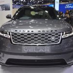 Range Rover Velar front at 2017 Thai Motor Expo
