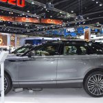 Range Rover Velar profile at 2017 Thai Motor Expo