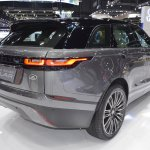 Range Rover Velar rear three quarters at 2017 Thai Motor Expo