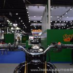 Royal Enfield Classic 500 Bobber cockpit at 2017 Thai Motor Expo
