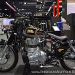 Royal Enfield Classic 500 Bobber left side at 2017 Thai Motor Expo
