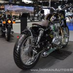 Royal Enfield Classic 500 Bobber rear right quarter at 2017 Thai Motor Expo