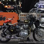 Royal Enfield Classic 500 Bobber right side at 2017 Thai Motor Expo