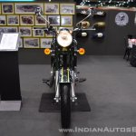 Royal Enfield Classic 500 Chrome front at 2017 Thai Motor Expo