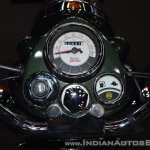 Royal Enfield Classic 500 Chrome instrument cluster at 2017 Thai Motor Expo