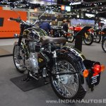 Royal Enfield Classic 500 Chrome rear left quarter at 2017 Thai Motor Expo