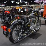 Royal Enfield Classic 500 Chrome rear right quarter at 2017 Thai Motor Expo