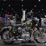 Royal Enfield Classic 500 Chrome right side at 2017 Thai Motor Expo