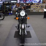 Royal Enfield Classic 500 Stealth Black front at 2017 Thai Motor Expo