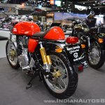 Royal Enfield Continental GT rear left quarter at 2017 Thai Motor Expo