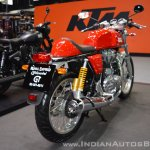 Royal Enfield Continental GT rear right quarter at 2017 Thai Motor Expo