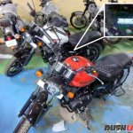 Royal Enfield Thunderbird 350X spied at dealership