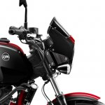 SYM Wolf CR 300i Black press headlight cowl