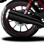 SYM Wolf CR 300i Black press rear wheel