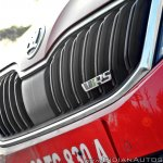 Skoda Octavia RS review test drive RS badge