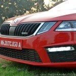 Skoda Octavia RS review test drive bumper