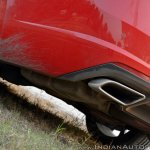 Skoda Octavia RS review test drive exhaust