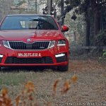 Skoda Octavia RS review test drive front (2)