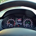 Skoda Octavia RS review test drive instrument console