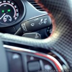 Skoda Octavia RS review test drive wiper stalk