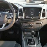 SsangYong Rexton Sports (Q200) AT interior spy shot