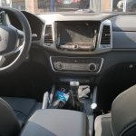 SsangYong Rexton Sports (Q200) MT interior spy shot