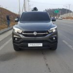 SsangYong Rexton Sports (Q200) front spy shot