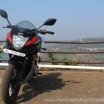 Suzuki Gixxer SF SP FI ABS review front