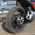 Suzuki Gixxer SF SP FI ABS review rear brake