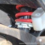 Suzuki Gixxer SF SP FI ABS review rear monoshock