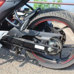 Suzuki Gixxer SF SP FI ABS review rear wheel