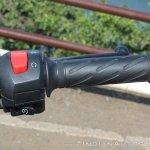 Suzuki Gixxer SF SP FI ABS review right switchgear