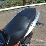 Suzuki Gixxer SF SP FI ABS review seat