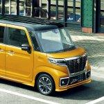 Suzuki Spacia Custom front angle top