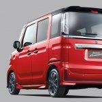 Suzuki Spacia Custom rear angle