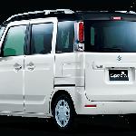 Suzuki Spacia rear angle