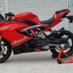TVS Apache RR 310 First Ride Review Paddock shot