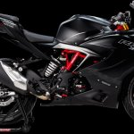 TVS Apache RR 310 Racing Black colour